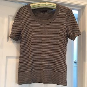 Brooks brothers knit striped top in size small